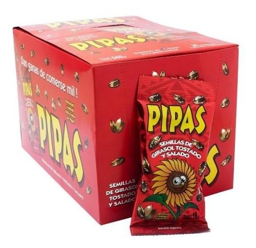 Pipas Rojas 18g X30 Unidades - Oferta - Kioscofull7x24