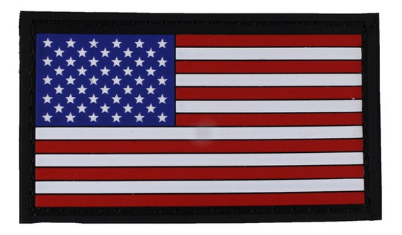 Emborrachado Bandeira Do Estados Unidos Colorida Com Fixação