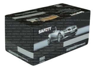 Pack Pastillas De Freno Subaru Forester 2526cs 2521cs Dyt