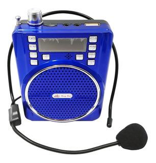 Bocina Megáfono Bluetooth Portatil Altavoz Full