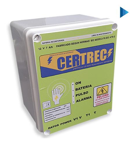 Cerco Eléctrico Para Seguridad Perimetral Certrec