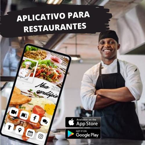 Imagem 1 de 3 de Aplicativo Exclusivo P/ Restaurantes