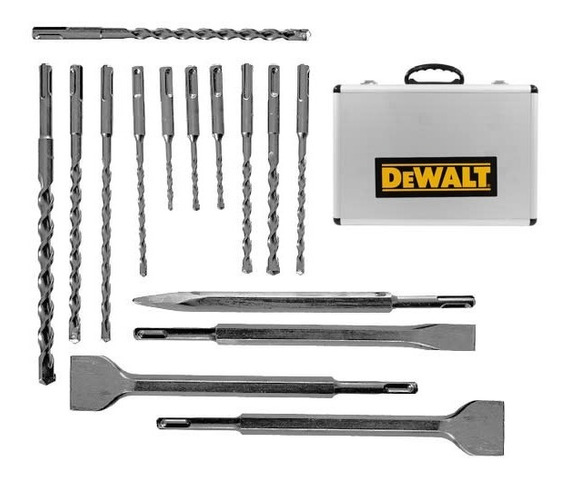 Set De 15 Brocas Cinceles Sds Plus Portafolio Dwa0870 Dewalt