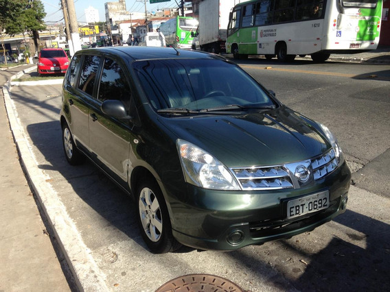 Nissan Livina 1.6 S Flex 4p Manual
