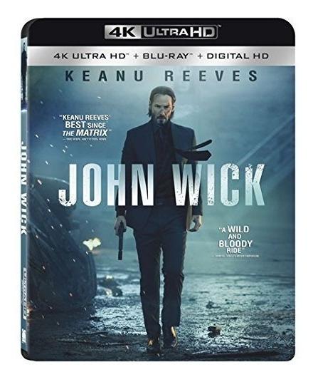 John Wick 4k Ultra Hd Blu Ray Bluray Keanu Reeves Original A