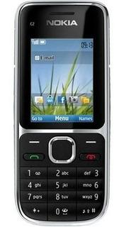 Nokia Cseries C2-01 43 Mb Preto 64 Mb Ram Novo