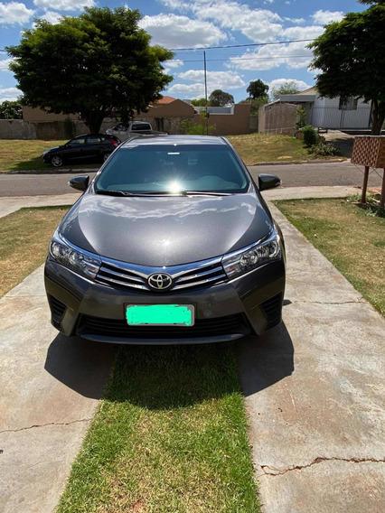 Toyota Corolla 1.8 16v Gli Flex 4p 2016