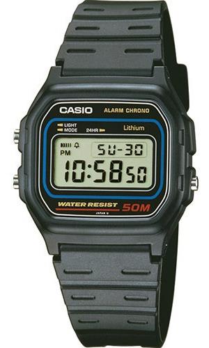 Reloj Casio W59 Vintage 50m Sumergible Alarma