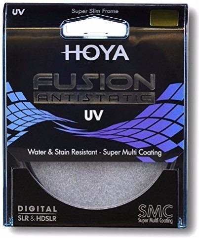 Filtro Hoya Fusion Uv 49mm Câmera Fotográfica Imp. Novo