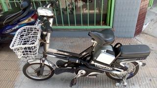 Bicicleta Electrica Luckylion Precio Charlable,buen Estado!
