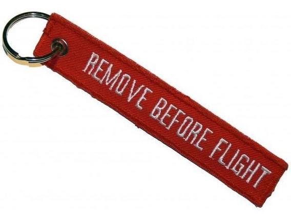 Llavero Remove Before Flight