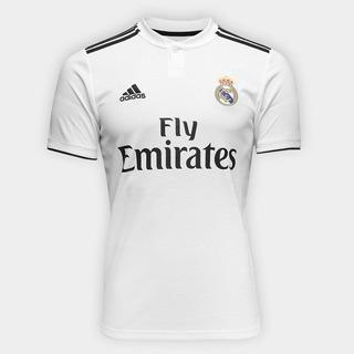 Camisa Real Madrid Branca 2018 Oficial Original Masculino
