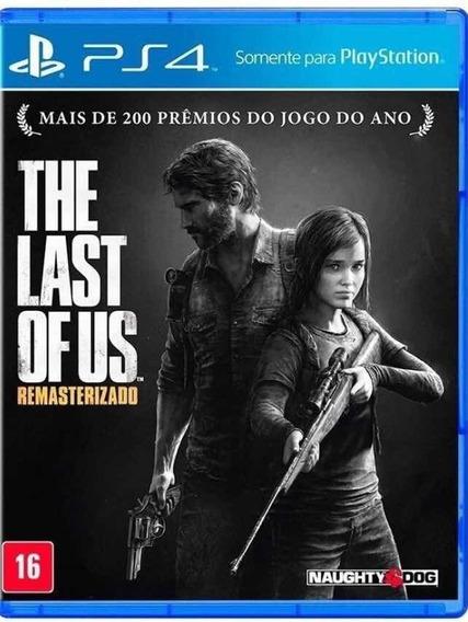 The Last Of Us Ps4 Mídia Física Capa De Plástico Azul