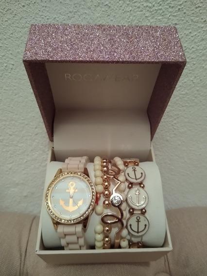Reloj Rocawear Rosa