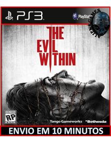 The Evil Within Ps3 Mídia Digital Psn Envio Hoje