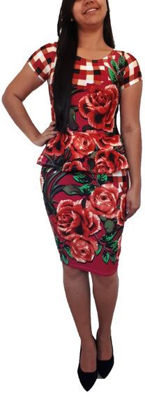 Kit 3 Vestido Feminino Moda Evangélica Midi Social Promoção