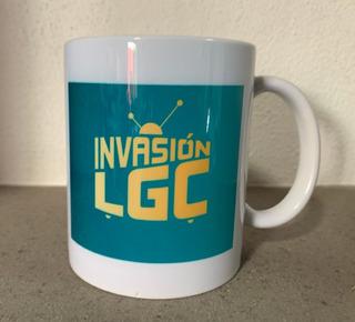 Taza Cerámica Invasión Lgc