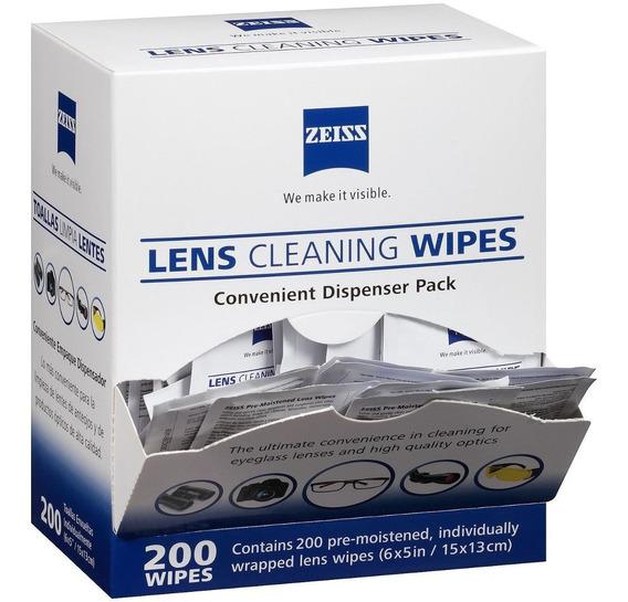 Zeiss Lens Wipes - 224 Lenços De Limpeza De Lentes