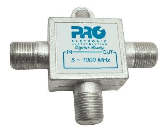 Tomada T 1 Ghz 9db Pqtt-1209b Proeletronic