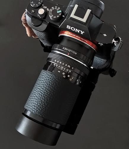 Rollei Tele-tessar (zeiss) 135mm Com Adaptador Sony E Mount