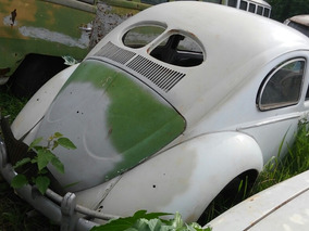 Volkswagen Fusca Split 69 Modelo 53 De Lata Nao Oval 2 Vidro