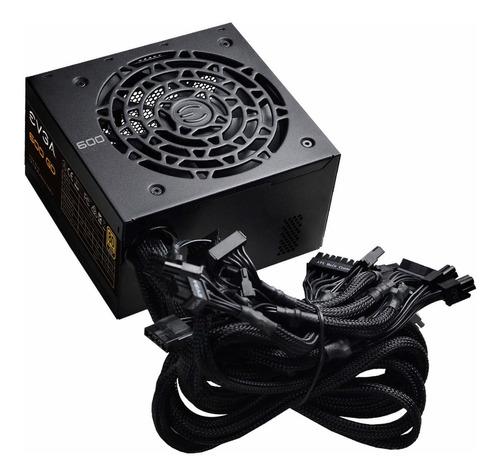 Imagen 1 de 3 de Fuente de poder Evga GD Series 600 GD 600W negra 100V/240V