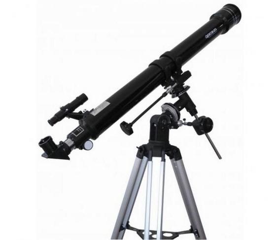 Telescópio Equatorial Refrator 900x70mm Greika F90070eq