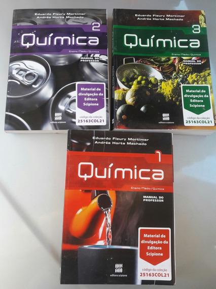 Coleção Três Livros Manual Do Professor Química Rnsino Médio