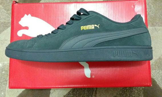 Tênis Puma Smash V2 - Grafite (novo)