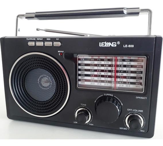 Rádio Lelong Le-609 Bom Ideal Levar Para Roça Chácara Sítio