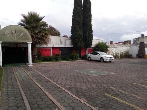 Venta De Terreno Con Locales Comerciales En Metepec