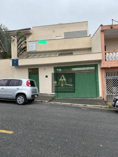 Imagem 1 de 25 de Sobrado À Venda, 188 M² Por R$ 2.100.000,00 - Jardim Tupanci - Barueri/sp - So0164