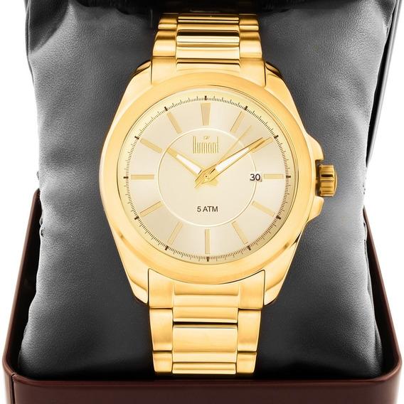 Relógio Masculino Dumont Dourado Du2315am/4d