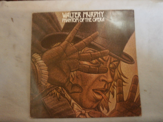 Lp Walter Murphy - Phantom Of The Opera, Vinil Com Encarte