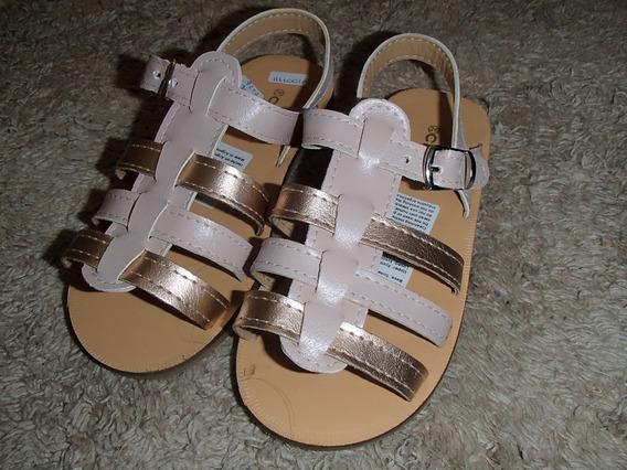 Sandalias Varios Números Rosa/dorado Cheeky Nuevas