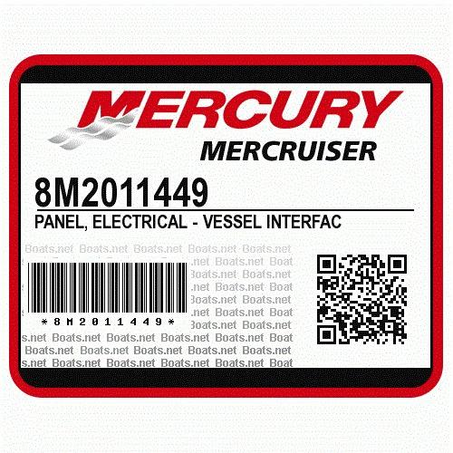 Mercruiser Diesel Modulo Qsd Part Nunber *m-8m2011449*