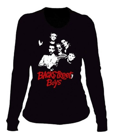 Playeras Backstreet Boys Manga Larga- 15 Modelos Disp.