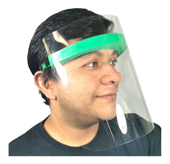 Cubre Bocas Nariz Ojos Máscara Protector Facial Grafeno Envi