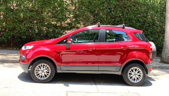 Ford Ecosport Roja Como Nueva