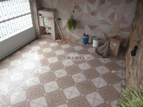 Sobrado Com 3 Dormitórios À Venda, 128 M² Por R$ 450.000 - Anchieta - São Bernardo Do Campo/sp - So0442