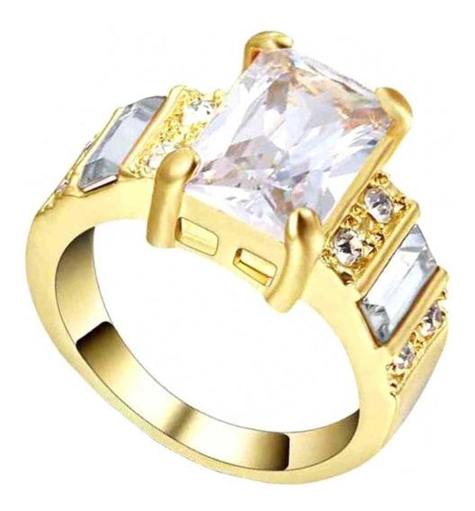 Anel Feminino Brilho Cristal Mulher Evento Dia Noivados 146