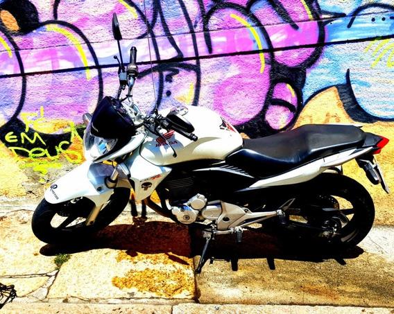 Moto Honda Cb 300x 23000 Km Branca 2014