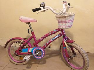 Bicicleta De Nena Olmo Winona Rodado 16