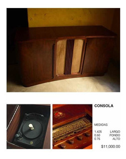 Consola Antigua