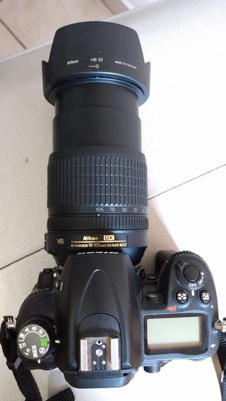 Câmera Nikon D7000 Profissional Menos De 16k