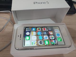 iPhone 5 16gb Branco/prata