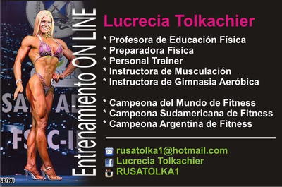 Personal Trainer, Preparadora Fisica Online.