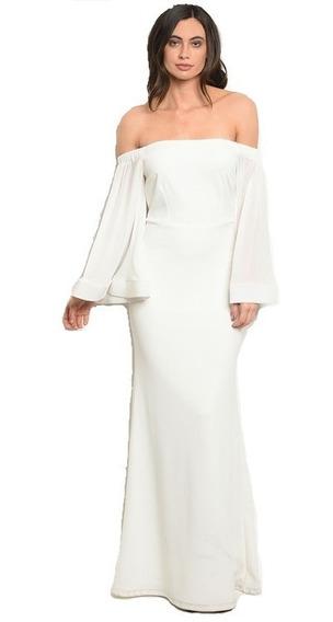 Vestidos De Fiesta Civil Casamiento Largos Importado Los Ang