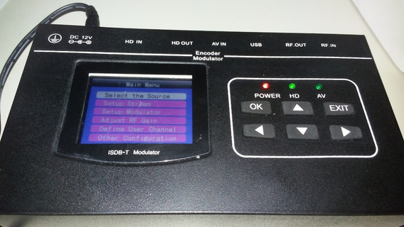 Modulador Isdb-t Hdmi Fullhd
