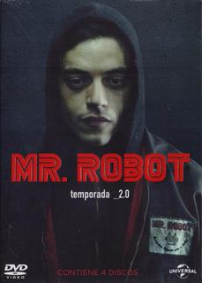 Mr Robot Segunda Temporada 2 Dos Dvd